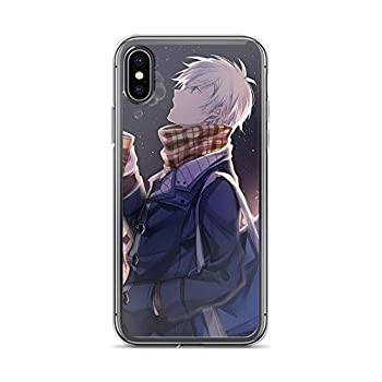 TEEMT Compatible with iPhone X/XS Case Mystic Messenger Zen Games Hyun Ryu Anime Boy Pure Clear Phone Cases Cover