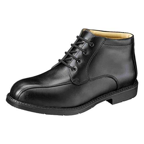Ejecutivo Zapato S3 Modena con Puntera de Seguridad - Composición: Piel - Hydro-Tec® Pro - ESD Proteccion - Antideslizante Sra - Color: Negro - Calzado de Protección para Hombre (42)