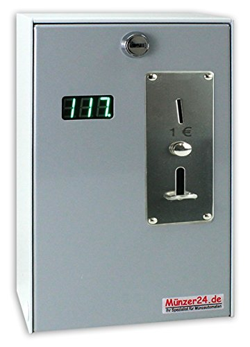 Münzautomat Beckmann EMS 57 MP - Münzkassierer mit Zeitanzeige (1 Euro)