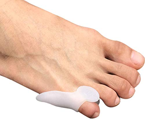 Tailor's Bunion Protectors (3 Pairs - 6 PCS by Pedimend | Bunionette Pads | Corn Sleeve Cushion