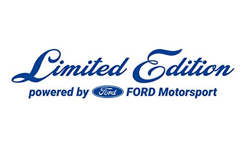 WRAP-SKIN Limited Edition passend für Ford Motorsport Aufkleber WS-10-03-10001 057 Verkehrsblau Glanz