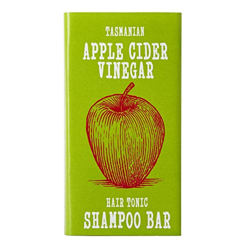 Eco-Friendly Apple Cider Vinegar SHAMPOO BAR Hair Tonic | For Oily Hair | Dandruff | Dry Itchy Scalp | Beauty and the Bees