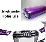 LEON-FOLIEN Scheinwerfer Folie Lila 20 x 30 cm Tönungsfolie Nebelscheinwerfer Rückleuchten Vorderleuchten Tuning Auto (23,30 EUR pro m²) Violett