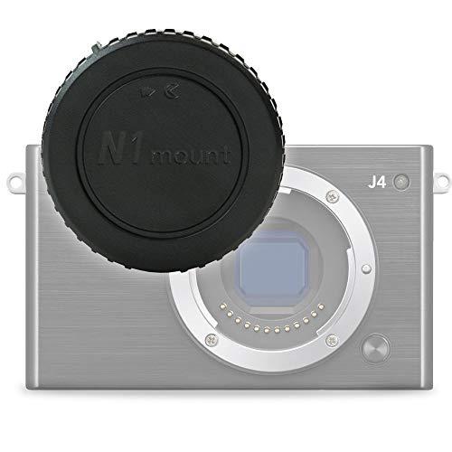 CELLONIC Tapa Compatible con Cuerpo para Nikon 1 AW1, 1 J1 1 J2 1 J3 1 J4 1 J5, 1 S1 1 S2 1 V1 1 V2 1 V3 (BF-N1000), Bayoneta Cubierta Protectora 1 Mount