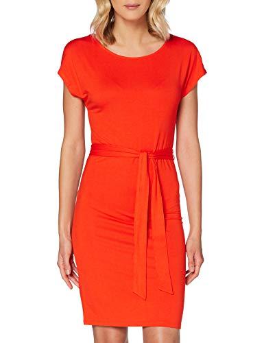 TOM TAILOR Damen Kleid, 22370-strong Flame orange, 40