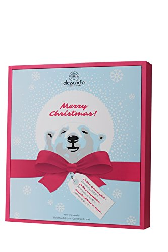 Alessandro Beauty Adventskalender Eisbär Ice Bear Damen Geschenk Mädchen