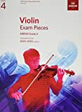 Violin Exam Pieces 2020-2023, ABRSM Grade 4, Part: Selected from the 2020-2023 syllabus (ABRSM Exam Pieces)