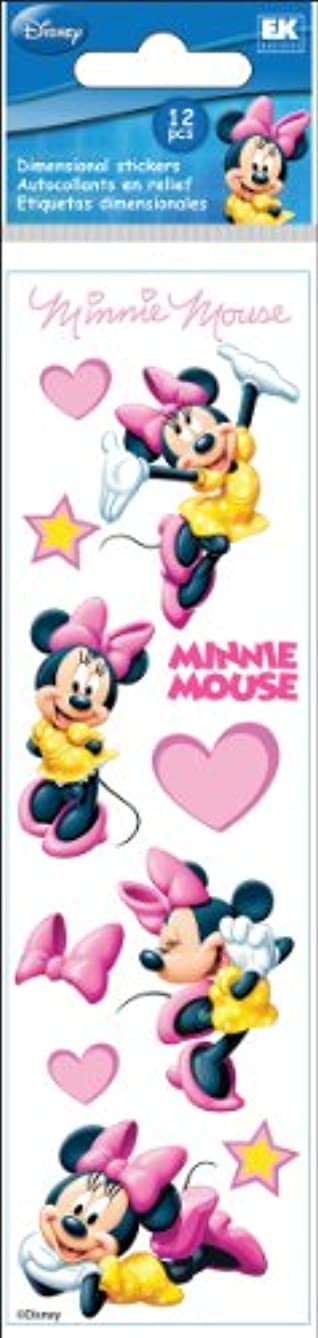 Disney Minnie Mouse Hearts Slims Dimensional Stickers