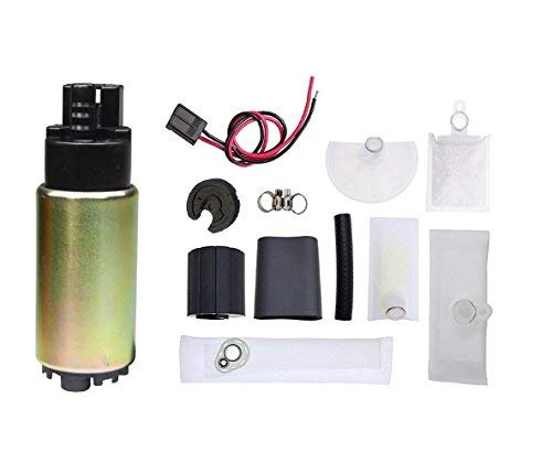 TOPSCOPE FP388335 - Universal Electric Fuel Pump Installation Kit with strainer E2068