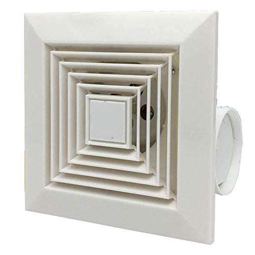 Ventilador de ventilación doméstico 8 Pulgadas Extintor, Potente Silencio Cocina/Baño/Hotel Conducto De Ventilación De Techo Ventilador LITING