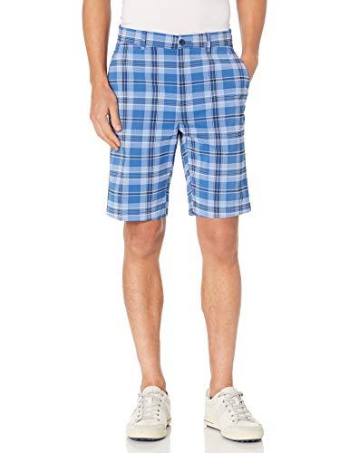 Jack Nicklaus Herren Flat Front Printed Active Flex Golf-Shorts, Klassisches Marineblau, 56