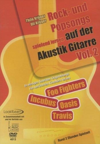 Thilo Krüger - Rock- und Popsongs Spielend lernen auf der Akusitkgitarre, Vol. 02