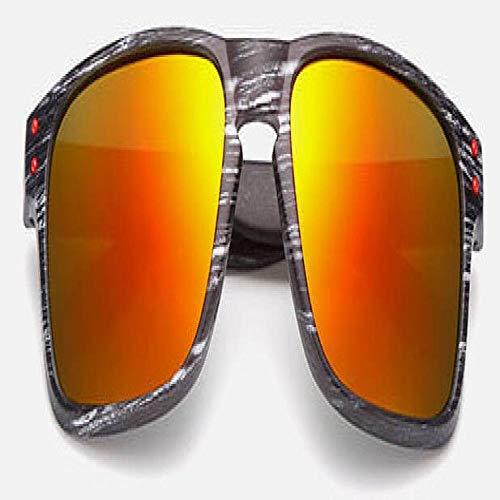 Occhiali da Sole Sunglasses Occhiali da Sole Ovali Moda Donna Uomo Occhiali da Sole Vintage Neri Marroni Occhiali da Vista da Guida per Uomo Donna No.09-Nerorosso