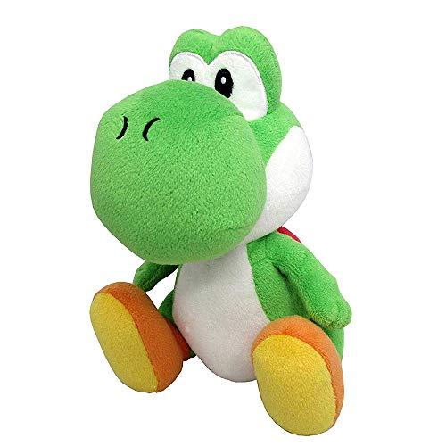 Super Mario Plush Green Yoshi Plush Toy Stuffed Animal Doll 7'