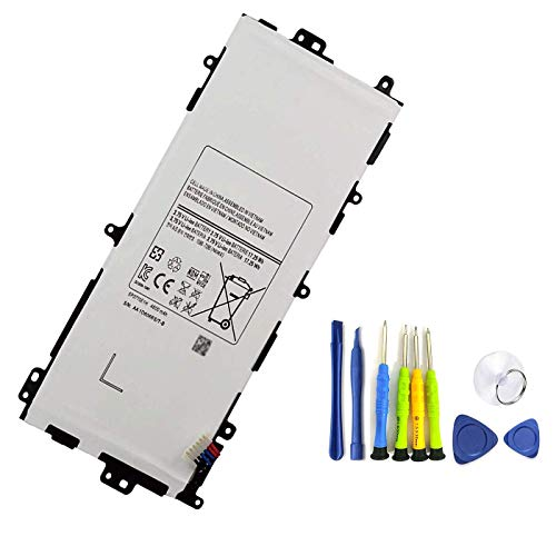 BOWEIRUI SP3770E1H (3.75V 17.25Wh 4600mAh) Tablet Battery Replacement for Samsung Galaxy Note 8.0 GT-N5110 N5100 N5105 N5120 SGH-i467 SGH-I467ZWAATT Series GH43-03786A AA1D306oS-T/B