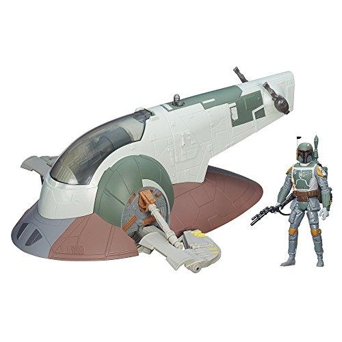 Star Wars Slave I mit Boba Fett