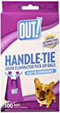 Out! Handle Tie Waste Pick-Up Bags for Dogs, 100 CT