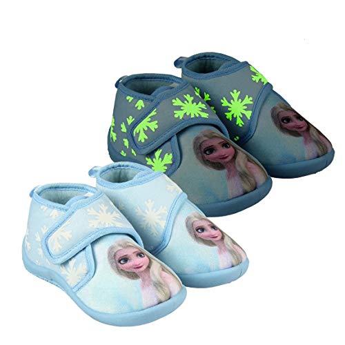 CERDÁ LIFE'S LITTLE MOMENTS 2300004646_T025-C72, Zapatillas de Andar por Casa Frozen-para Niñas-Licencia Oficial Disney, Azul, 25 EU