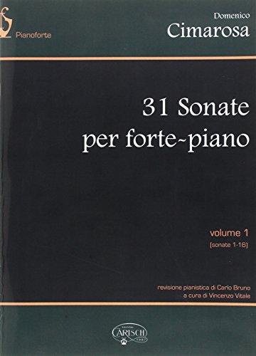Domenico Cimarosa: 31 Sonate Per Forte-Piano, Volume I Piano