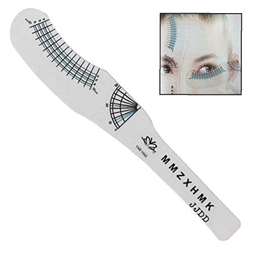 Beauté Règle Cil Carte Règle De Mesure Cils Maquillage Mascara Yeux