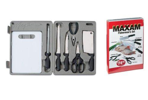 Maxam 8 Piece Fisherman's Set
