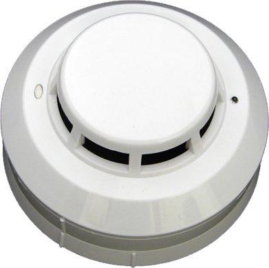 Detector de Incêndio Pontual Óptico de Fumaça, 2 Sensores, 2 ou 4 Fios