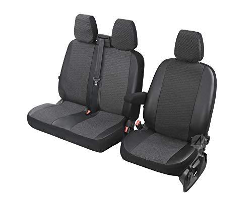 Sitzbezüge Viva passgenau geeignet für Mercedes Sprinter 2018-2+1- Erste Reihe (1+2) 4D-DV-VI-3M-MS18-273