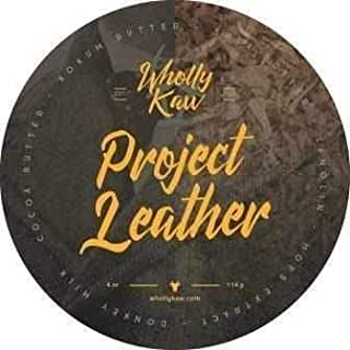 Wholly Kaw Donkey Milk Shaving Soap, Project Leather