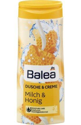 Balea Cremedusche Milch & Honig, 300 ml