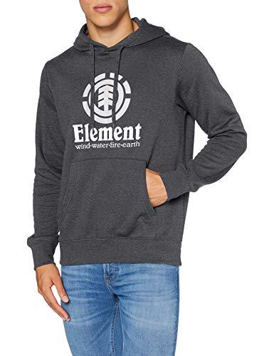 Element Vertical - Felpa Con Cappuccio Da Uomo Felpa Con Cappuccio, Uomo, Charcoal Heather, S