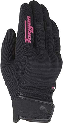 Furygan Jet Evo Lad Kid Handschuhe für Mädchen, Schwarz/Rosa, 10