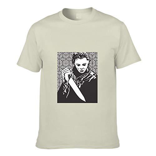AILIBOTE Halloween Michael Myers película de terror camiseta para hombre