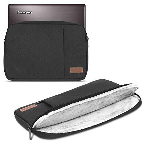 UC-Express Sleeve Hülle kompatibel für Lenovo ThinkPad P51 P51s P52 P52s 15.6 Zoll Hülle Tasche Notebook Schutzhülle Cover Hülle, Farbe:Schwarz
