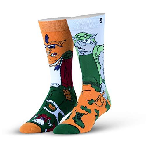 ODD SOX Herren Socken Gr. L, Bebop and Rock