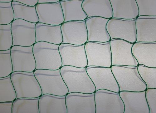 Pieloba Filet de clôture Vert – Maille 5 cm Épaisseur 1,2 mm – Taille : 0,50 m x 30 m