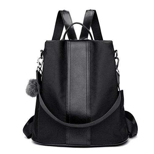 LOSMILE Mujer Bolsos mochila Bolsos de mano Bolsos bandolera Mochila de a diario Bolsa de Viaje Bolsos de peso Ligero Nylon Backpack Daypack para Escuela trabajo fecha