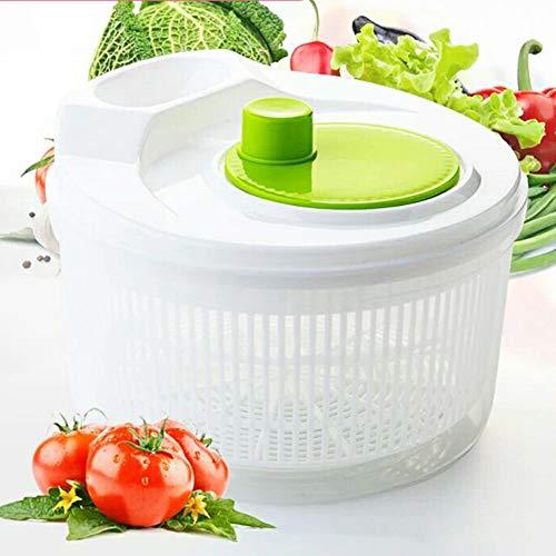 Petit Essoreuse à Salade, Panier à Passoire, Base Antidérapante, Sèche-linge Et Salade De Laitue, Fines Herbes, Légumes Et Fruits
