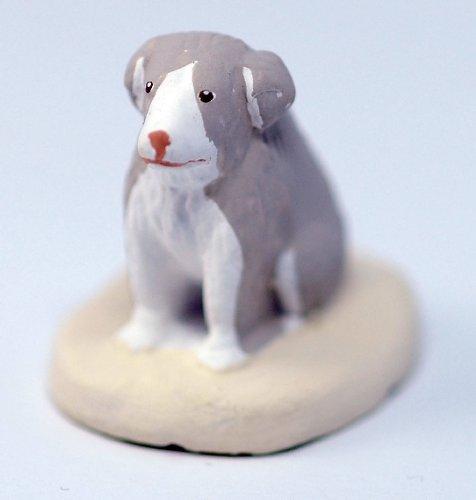 Arterra - Santons de Provence - Chien de Berger Les Blancs Collection 7 cm