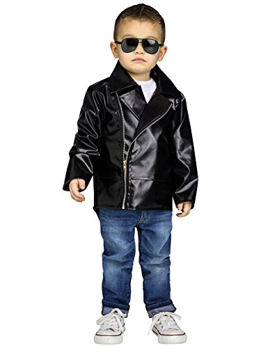 Fun World Rock 'N' Roll Toddler Costume, Large 3T-4T, Multicolor
