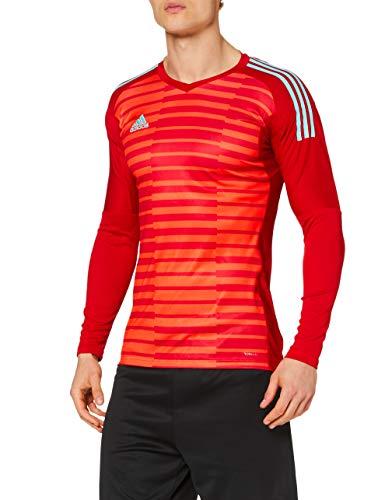 adidas Herren AdiPro 18 Torwarttrikot, Power Red/Semi Solar Red/Energy Aqua, XL