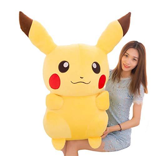 LCCYJ Plüsch Spielzeug Pikachu Plüschpuppe Gelb Plüschpuppen Geburtstag Urlaub Geschenke 20-110cm,45cm