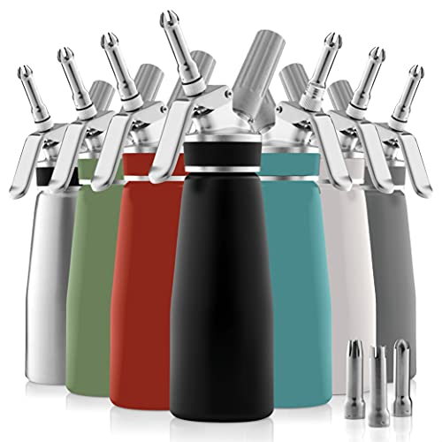 Professional Whipped-Cream Dispenser - Highly Durable...