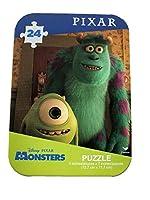 ディズニーピクサー (Disney Pixar) 子供向け ジグソーパズル - アルミケース付き『モンスターズインク』