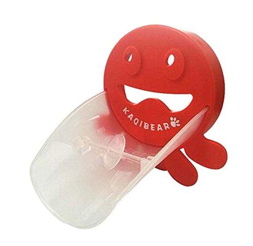 mignon robinet d'évier Extender poignée Extender pour les enfants Octopus rouge
