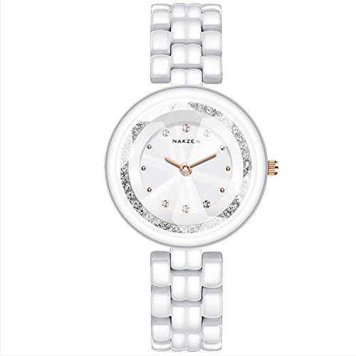 CETLFM - Reloj de Pulsera de cerámica para Mujer
