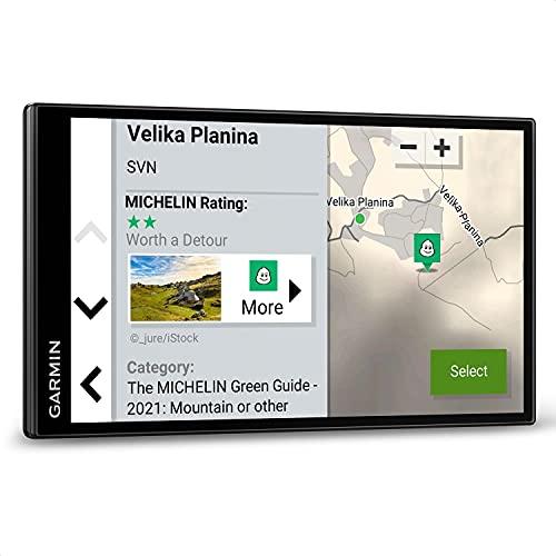 """Garmin CamperVan – Roadtrip-Navi mit 6,95"""" (17,7 cm) HD-Display, vorinstallierten 3D-Europa-Karten, Trendy Places entlang der Route, Local Places Aktivitäten vor Ort und großer Campingplatz-Datenbank"""