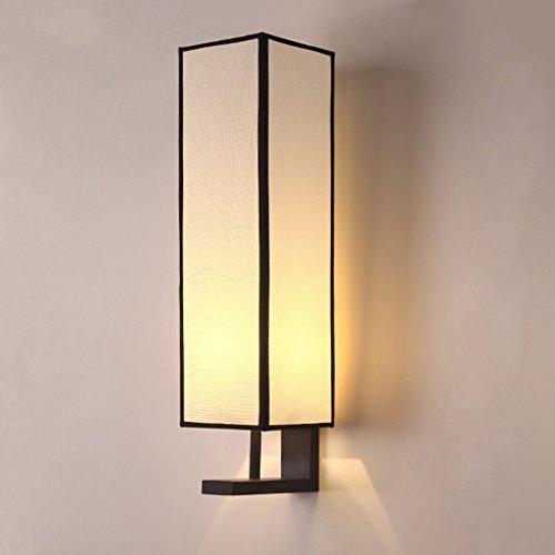 Chambre à coucher moderne lit style chinois couloir salon salon Creative personnalité fer antique Art lampe de mur