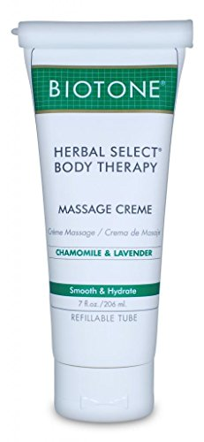 Lowest Prices! Biotone Herbal Select Massage Products Body Therapy Creme, 7 Ounce