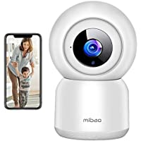 1080P WiFi Security Camera w/Night Vision, Motion Detection, 2-Way Audio