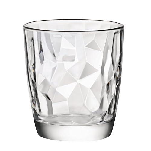Rocco Bormioli Diamond 302260 Bicchieri, Cofezione da 6 pezzi, Trasparente